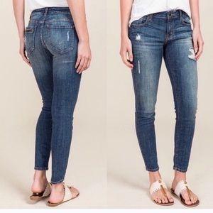 Eunina // denim skinny jeans